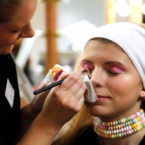 Make up application training
